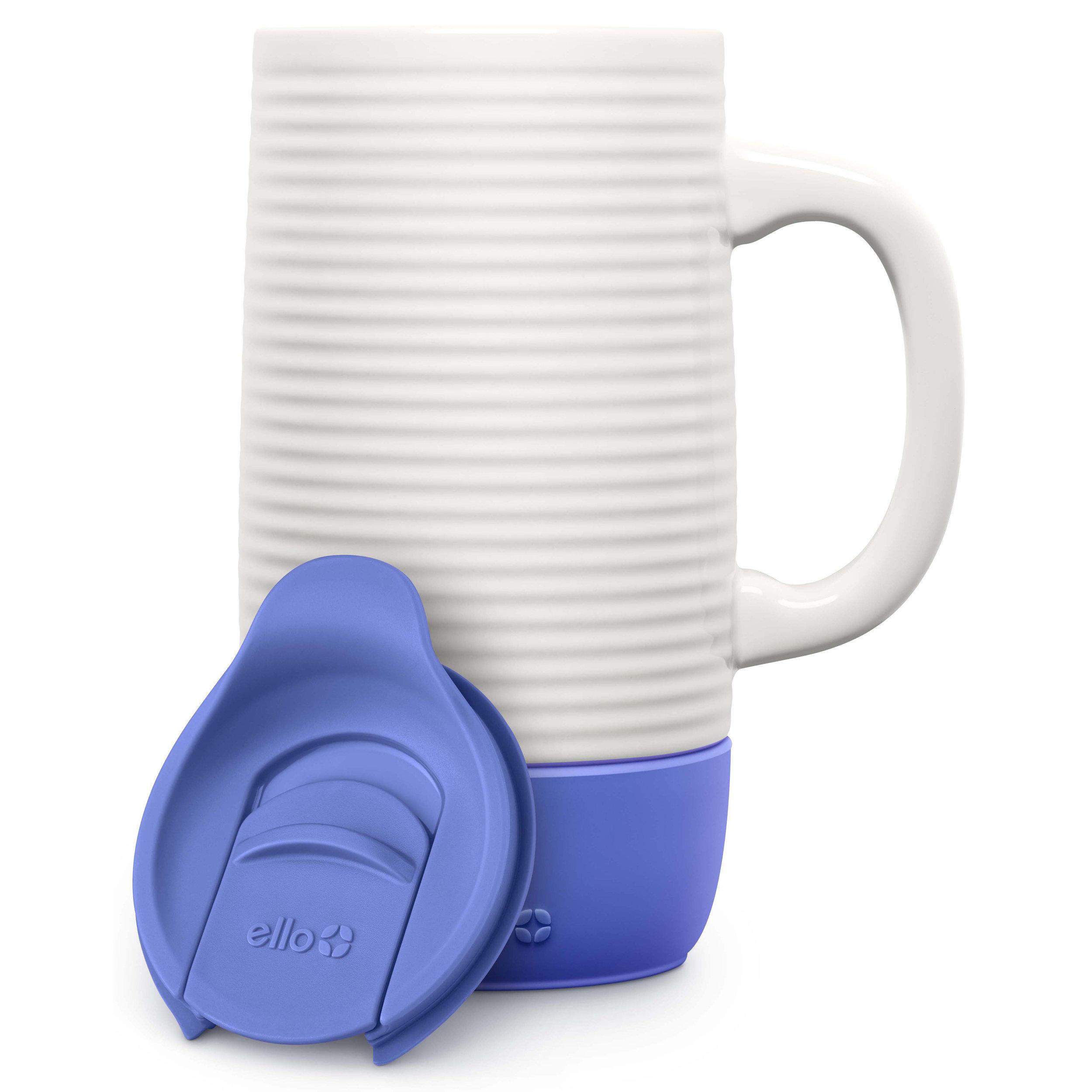Ello Products Jane 18oz Ceramic Travel Mug With Spill Resistant Slider Lid