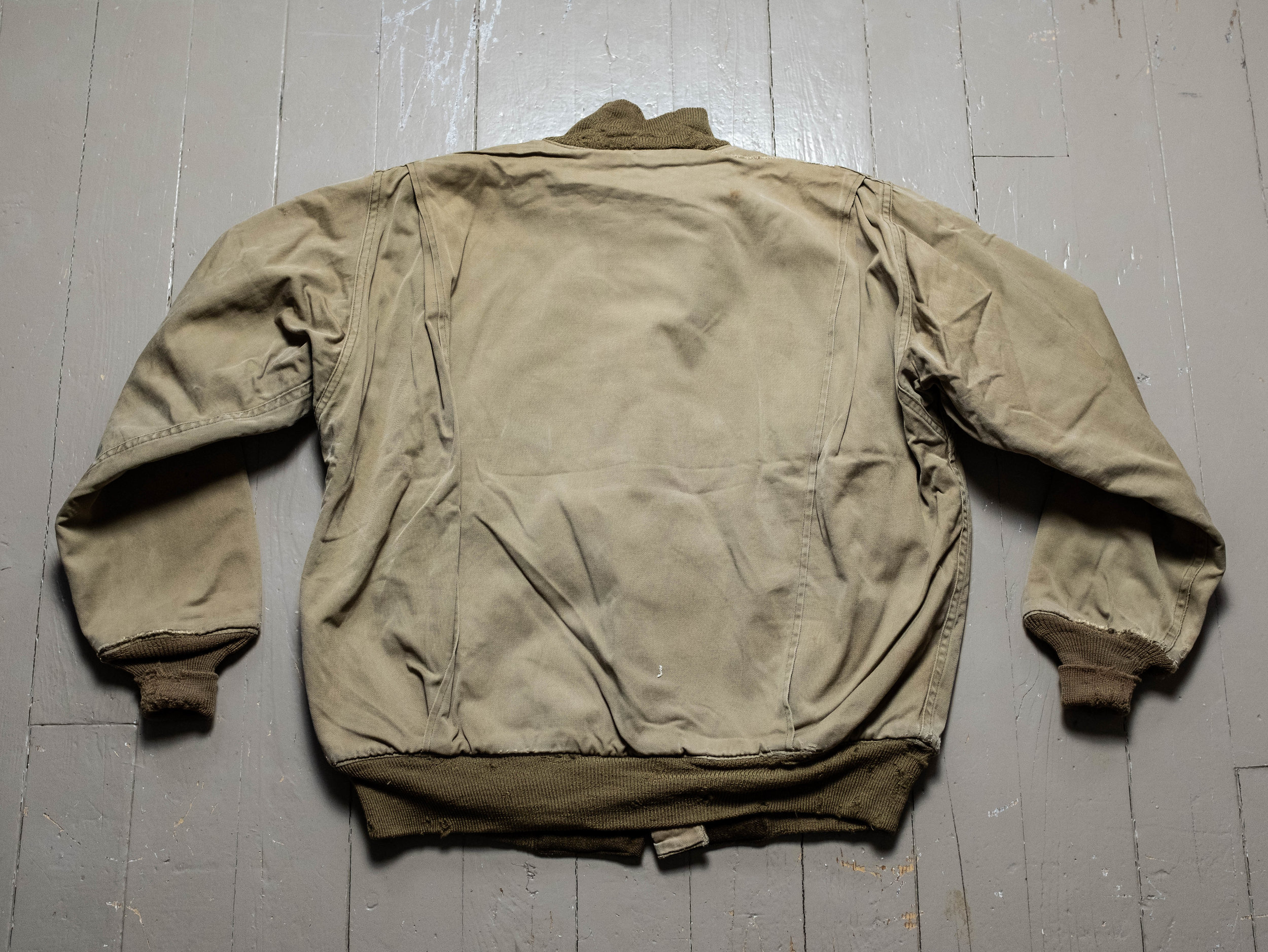 WW2 US Army 2nd-Pattern Tanker Jacket with USAAF Air Transport Patch  Taxi  Driver Style! — SAUNDERSMILITARIA
