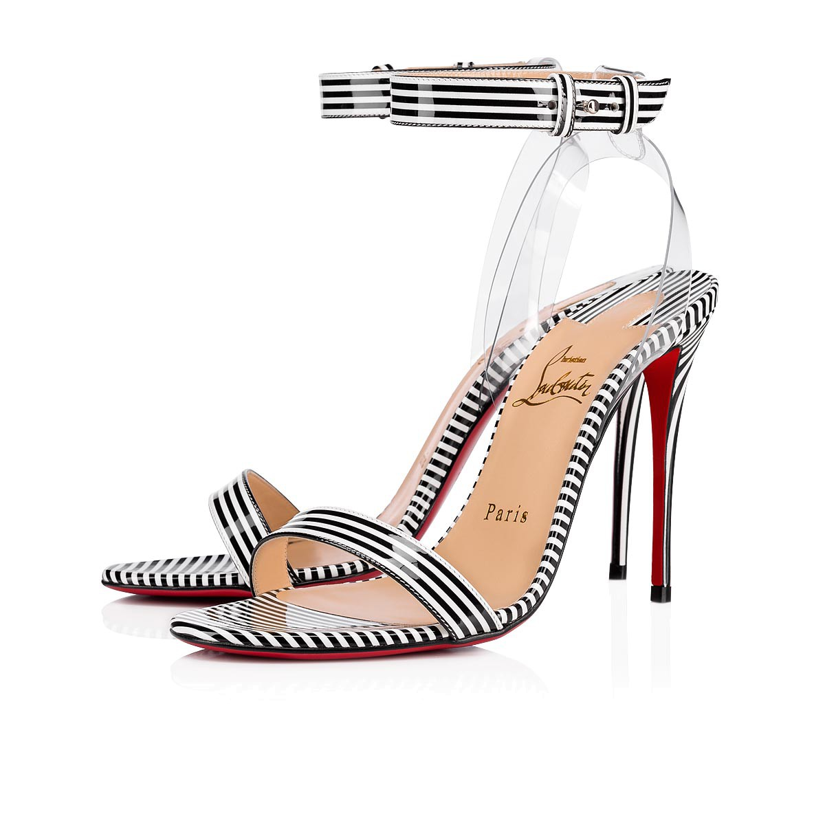 buy popular 7120f 0fca3 Christian Louboutin Jonatina 100 Patent — Evelyn M. Atelier