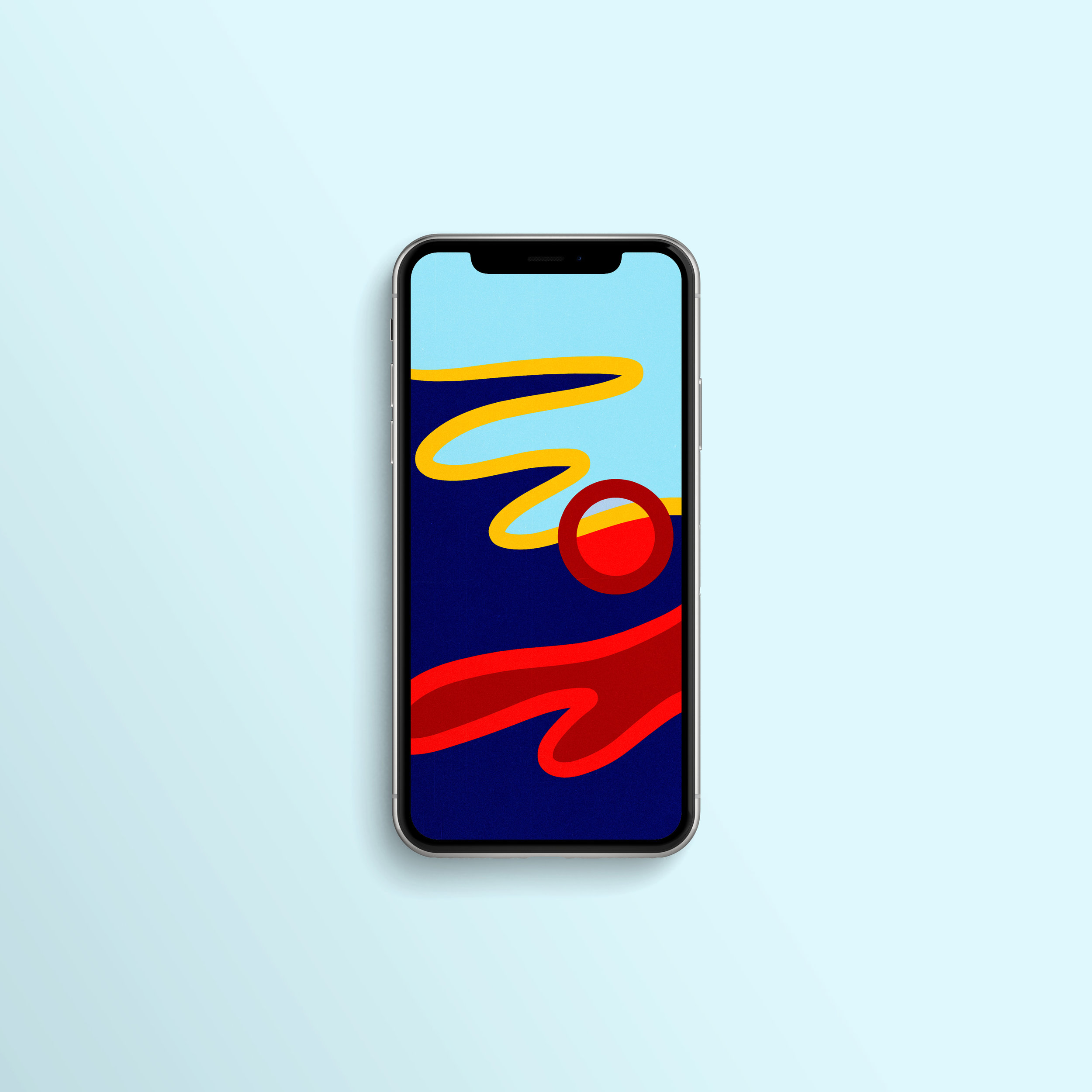 Abstract No 1 Wallpaper Iphone X Xs Xr Emily Only