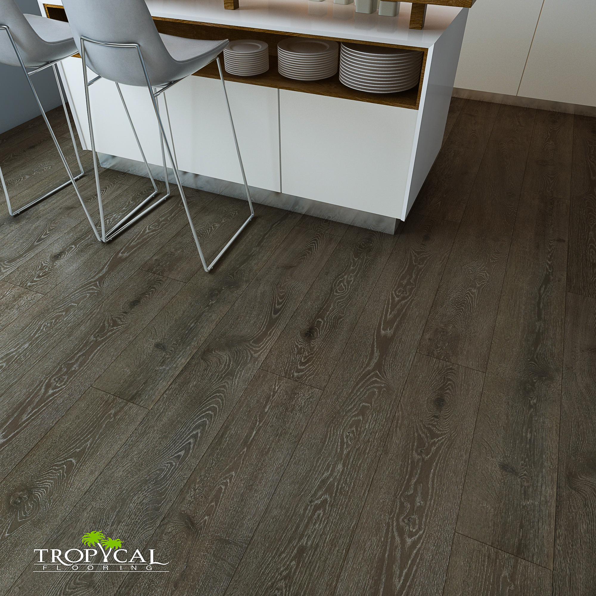 Ruby Tempest Tropical Flooring
