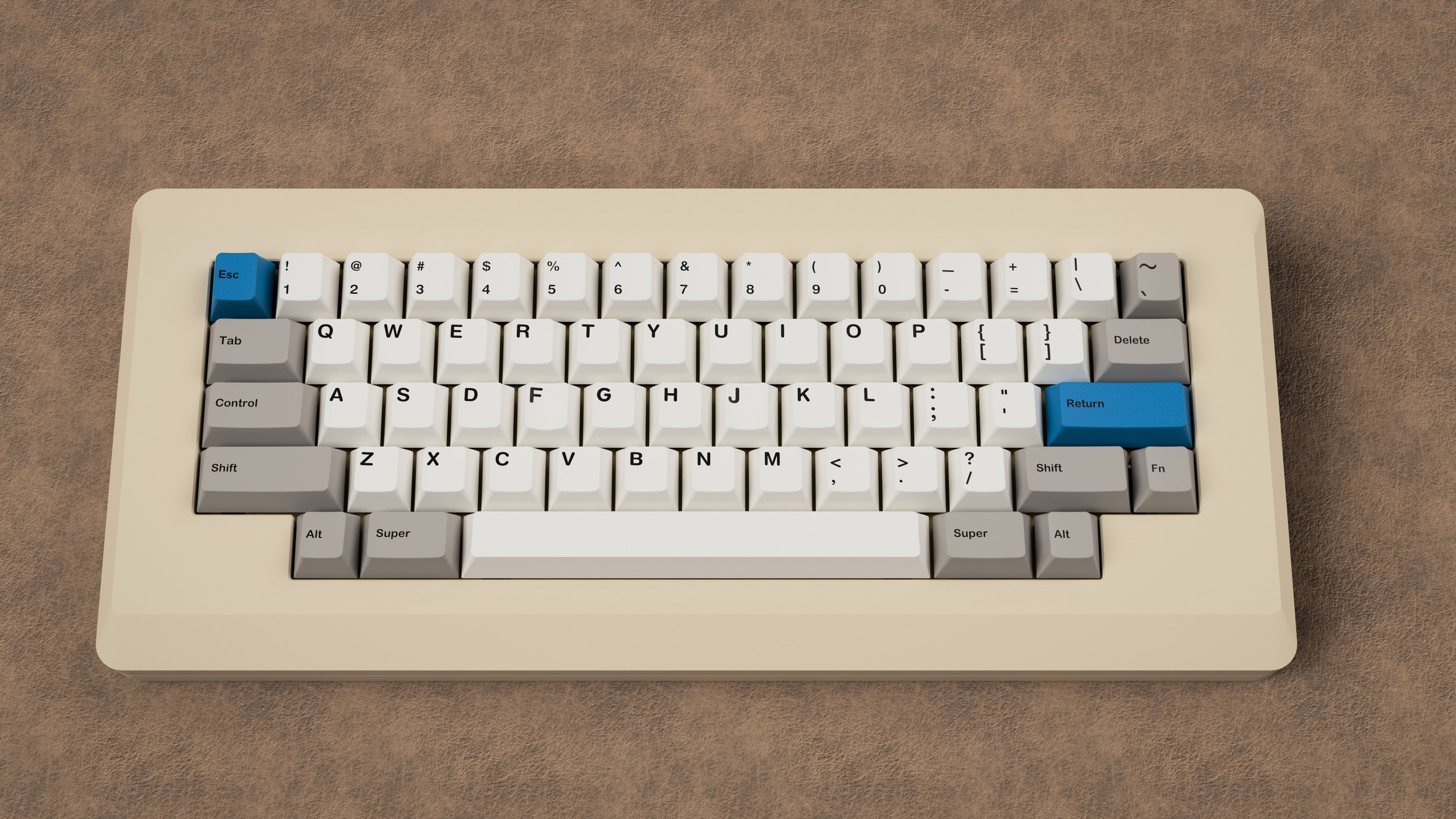 [In Stock] Alps Throwback Keycap Set — Desk Candy