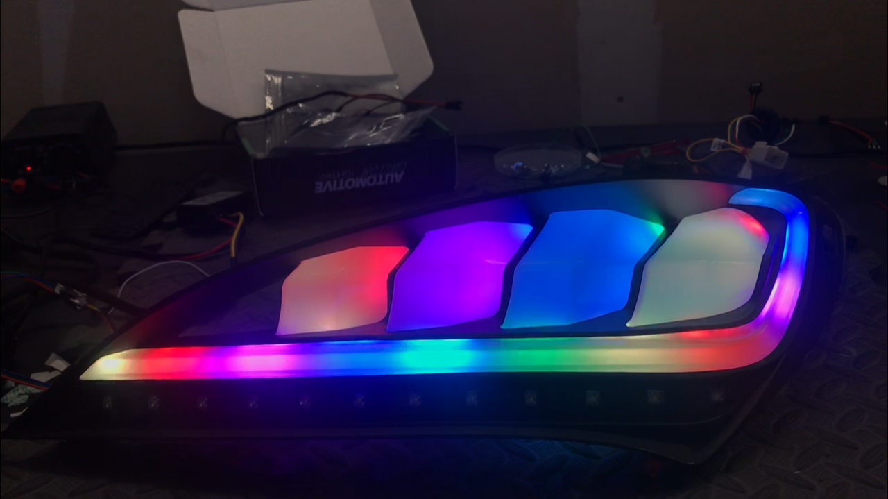 Color Shifting Spec D Tail Lights - Level 2 — NTXGlow