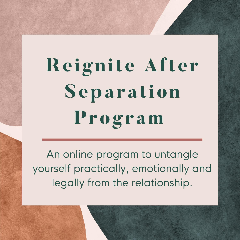 After separation relationship 9 Divorceés