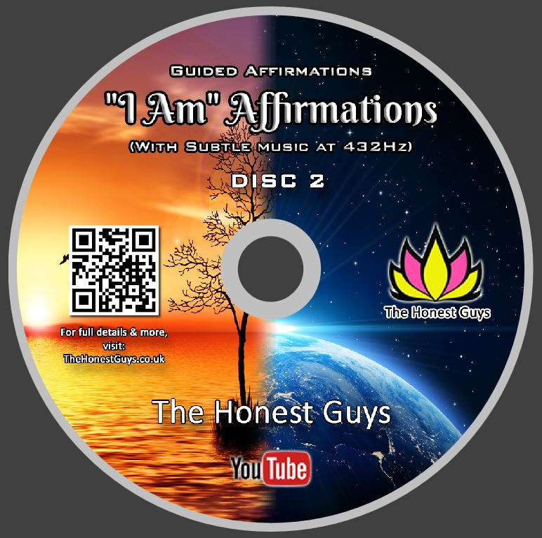 'I AM' AFFIRMATIONS - Double Disk, Dual-Track Edition — TheHonestGuys co uk