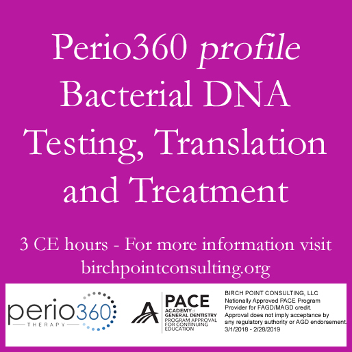 Perio360 DNA Profiling - Chicago O'Hare - Jan  24, 2020 Morning