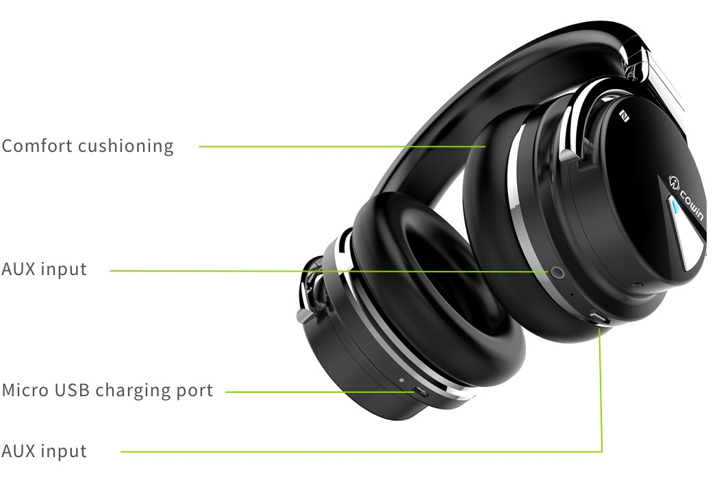 Cowin E7 | Active Noise Cancelling Wireless Bluetooth Headphones —  trueform: Introducing you to new & innovative tech products