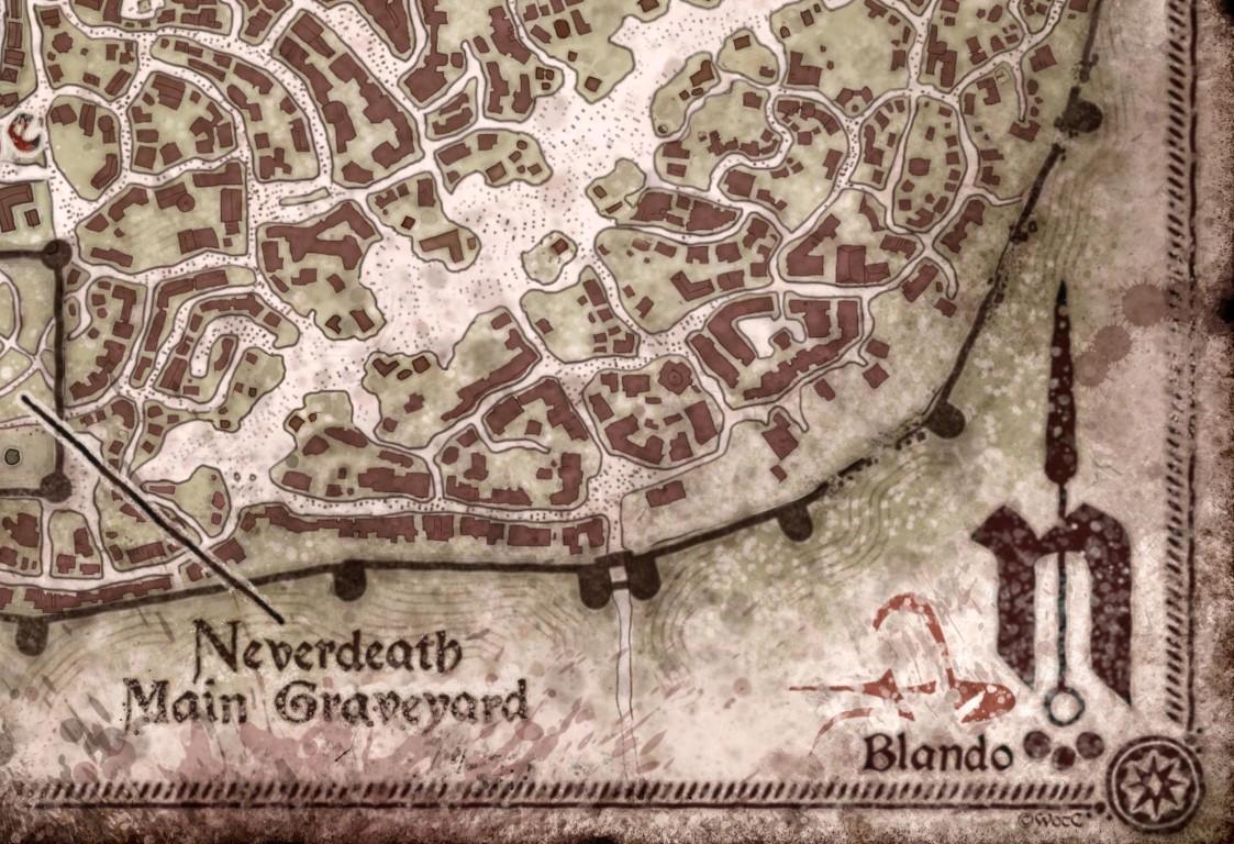 Neverwinter: City Map — Jared Blando