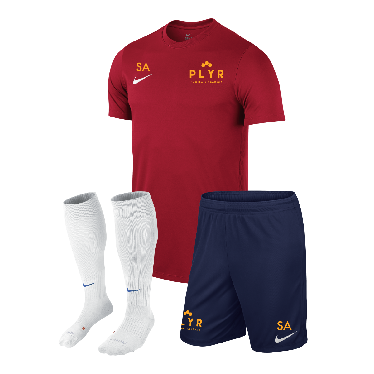 official store fast delivery new concept PLYRFA Nike Training Kit — PLYR Football Academy