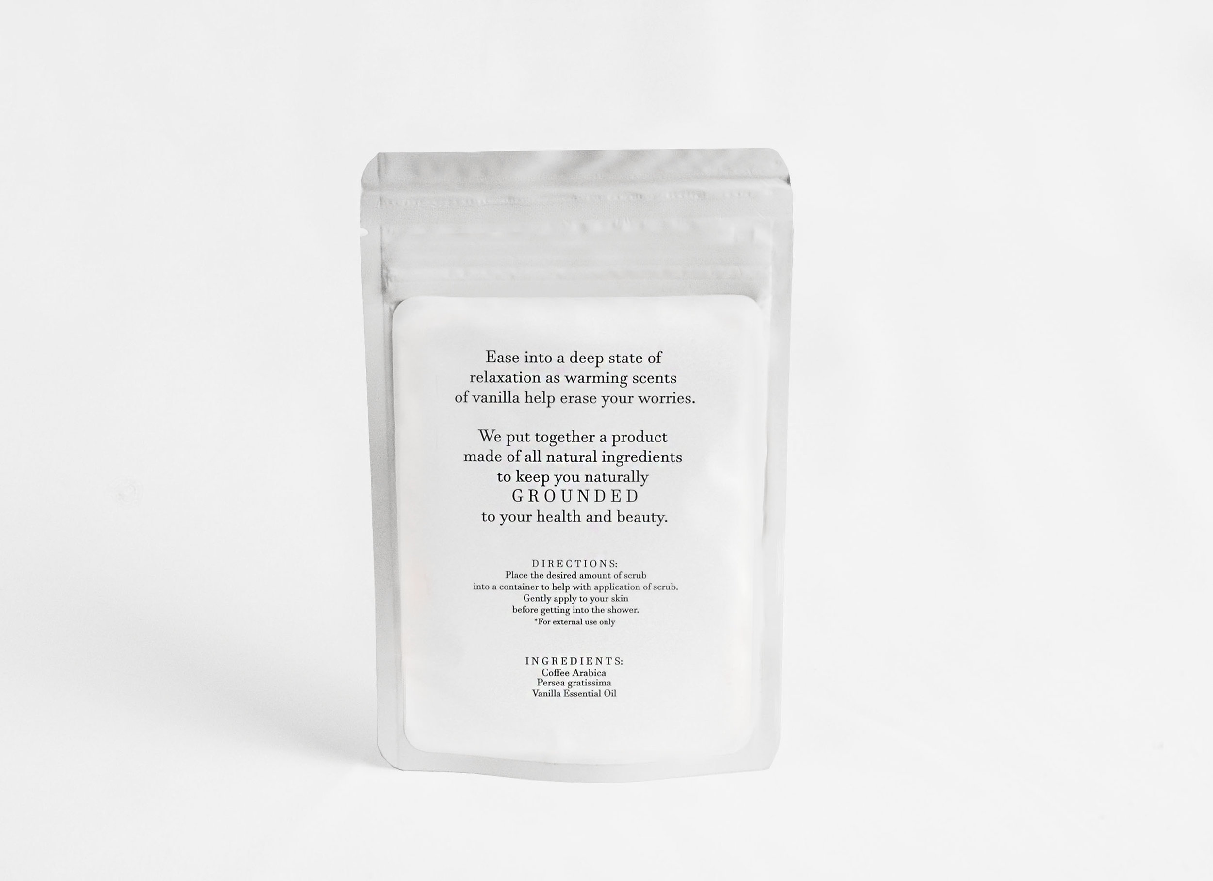 Women's Relax Face Scrub — Grounded