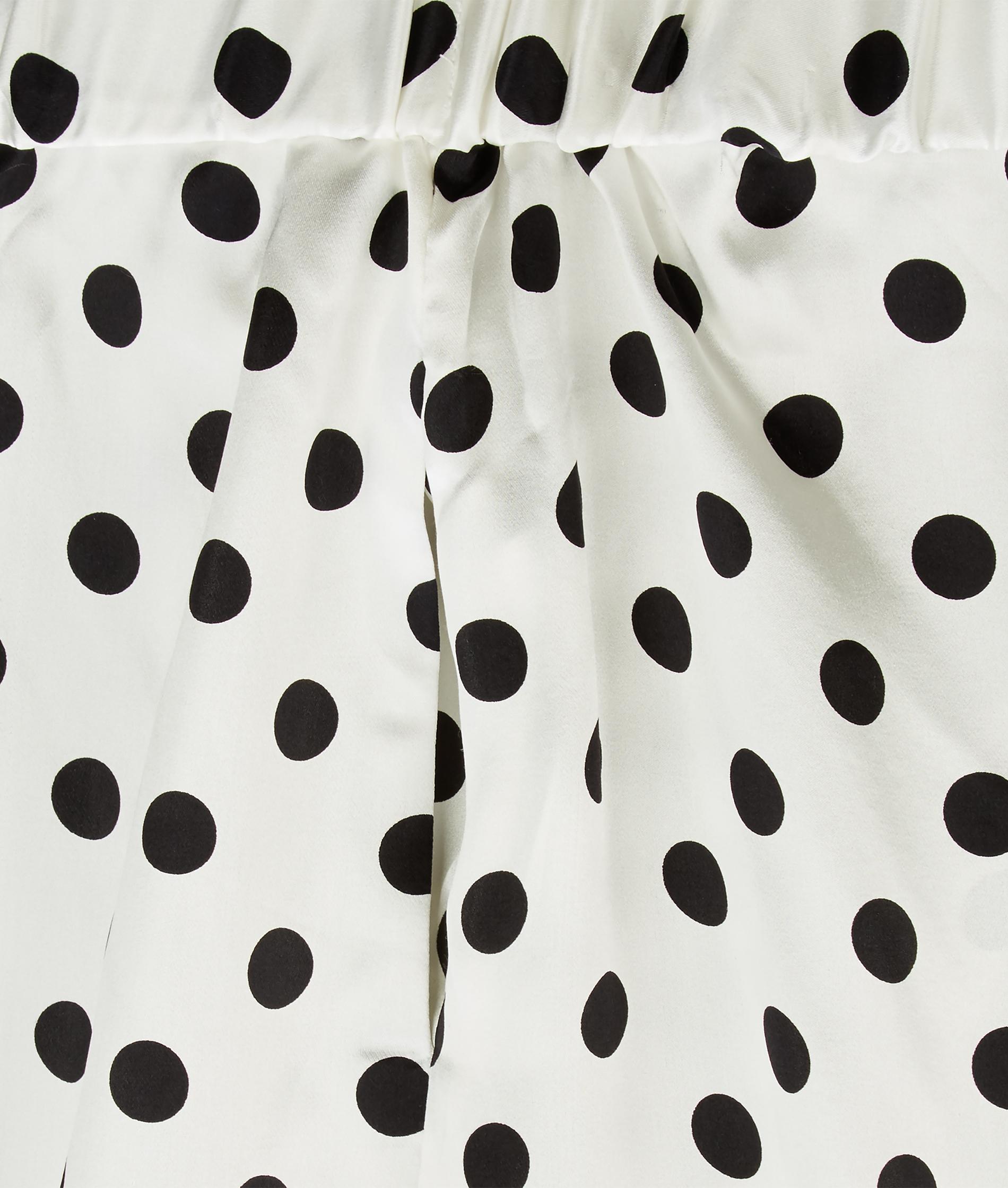 Polka Dot Black & White Palazzo Pants — Grace Wears