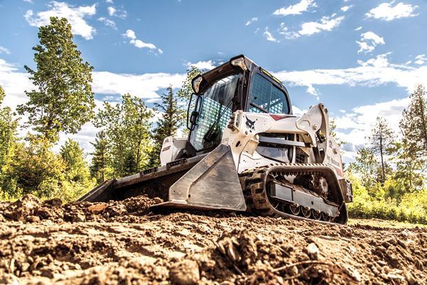 BOBCAT T590 COMPACT TRACKED SKID STEER — American Pride