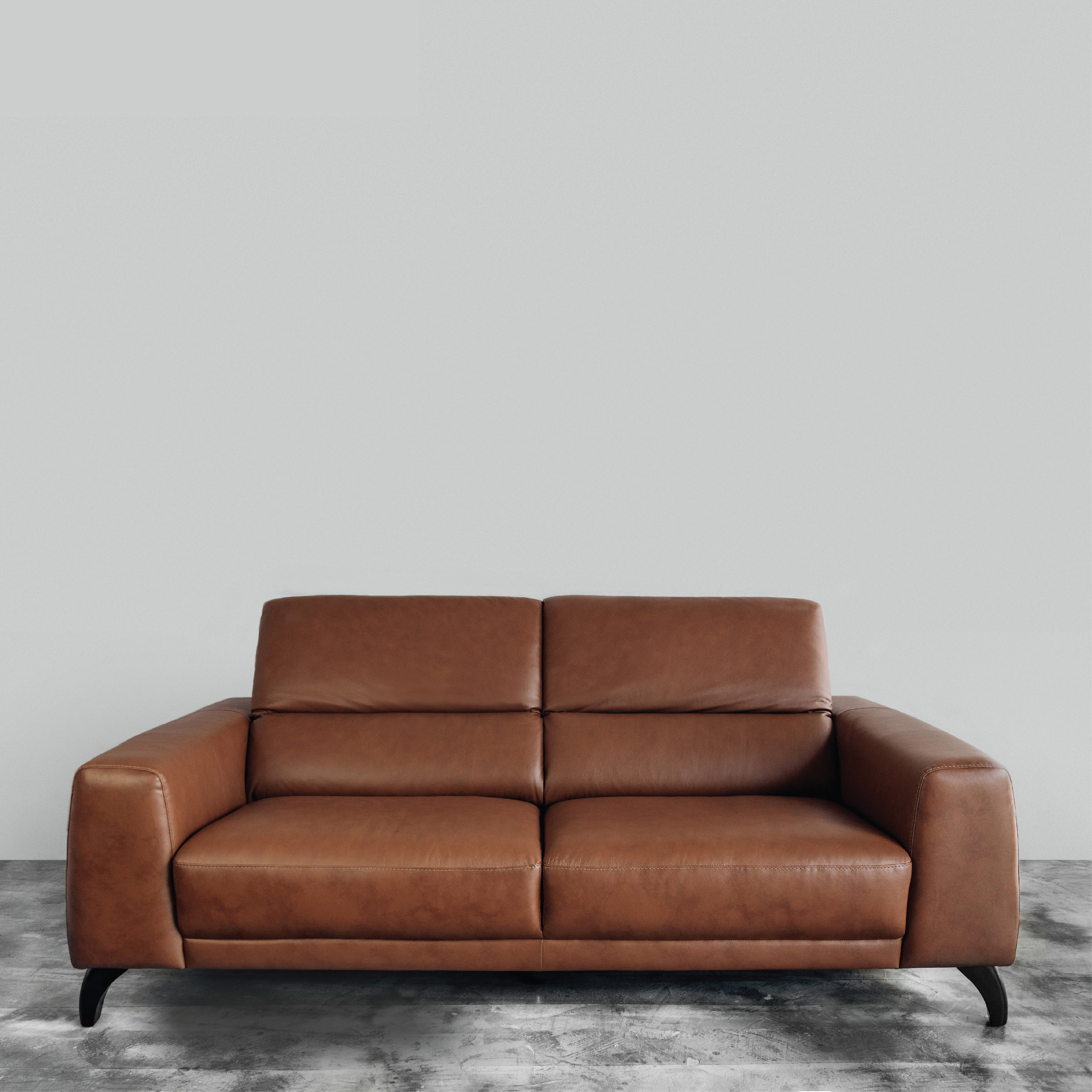 Arthur Leather Fabric Sofa