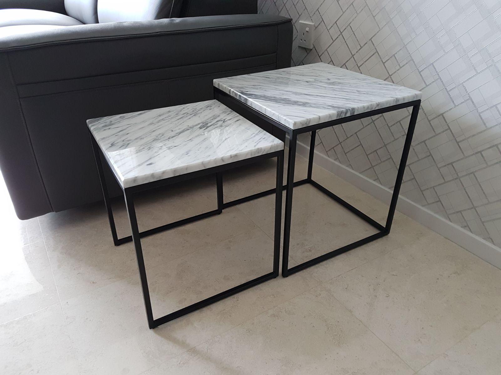 Faroe T Italian Marble Coffee Table Greyhammer Furniture