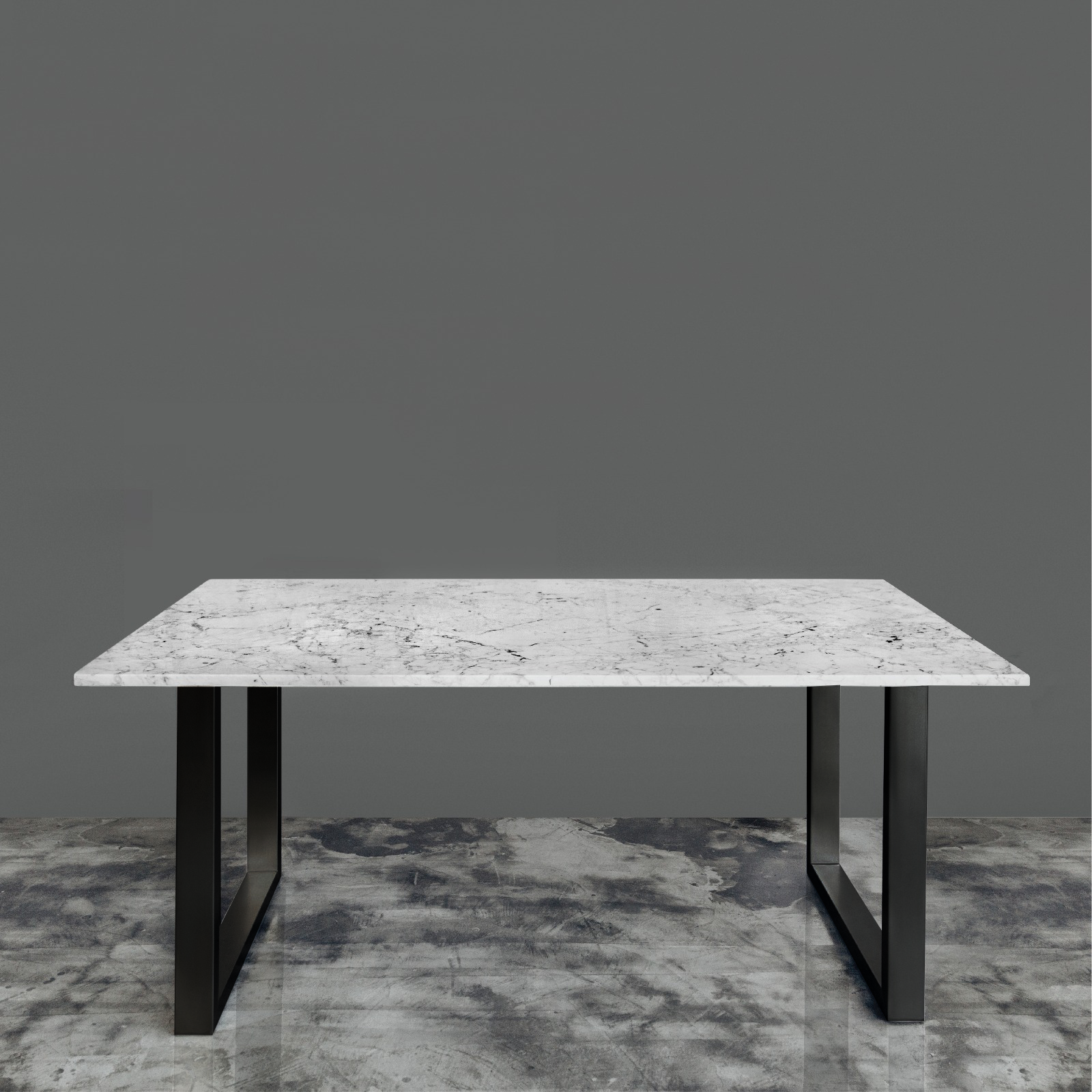 Level - Italian Marble Dining Table — GreyHammer Furniture Singapore |  Quality Designer Fabric & Leather Sofa | Custom Marble Granite Quartz Table  ...