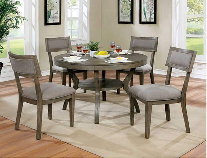 Round Dining Table 4 Pc Set Cm3387rt