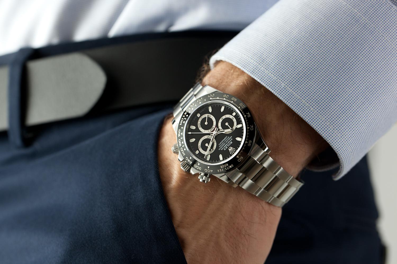 Rolex Daytona , Black Dial , 116500LN \u2014 Watch Exchange Co.