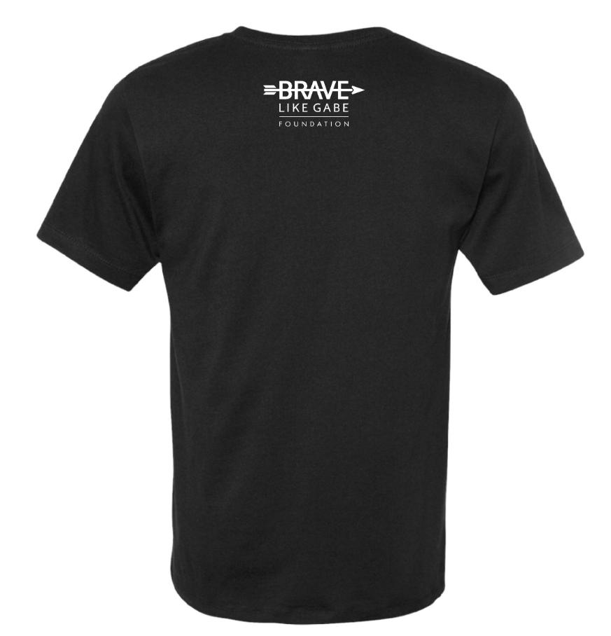 tout neuf 3015e d08a8 Running On Hope - Unisex T-shirt (black) — Brave Like Gabe