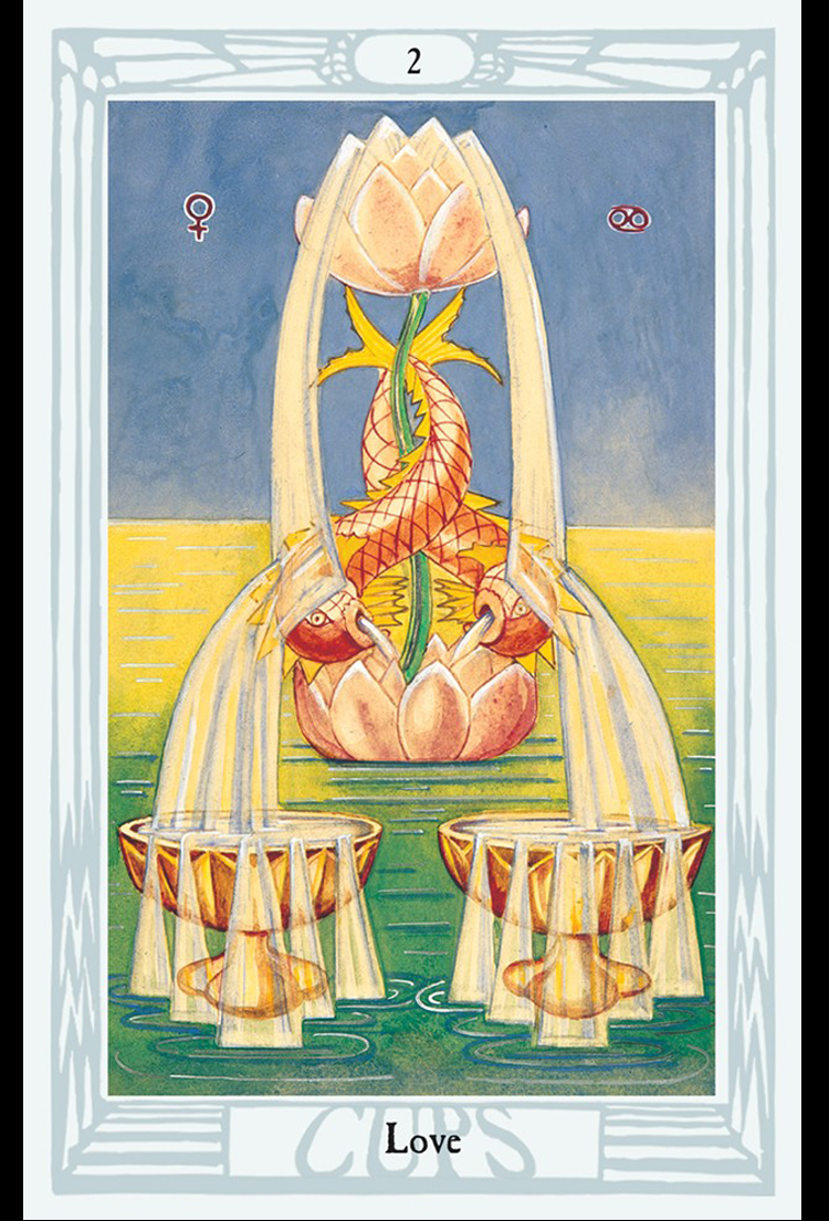 Aleister Crowley's Thoth Tarot — TWIN TEMPLE