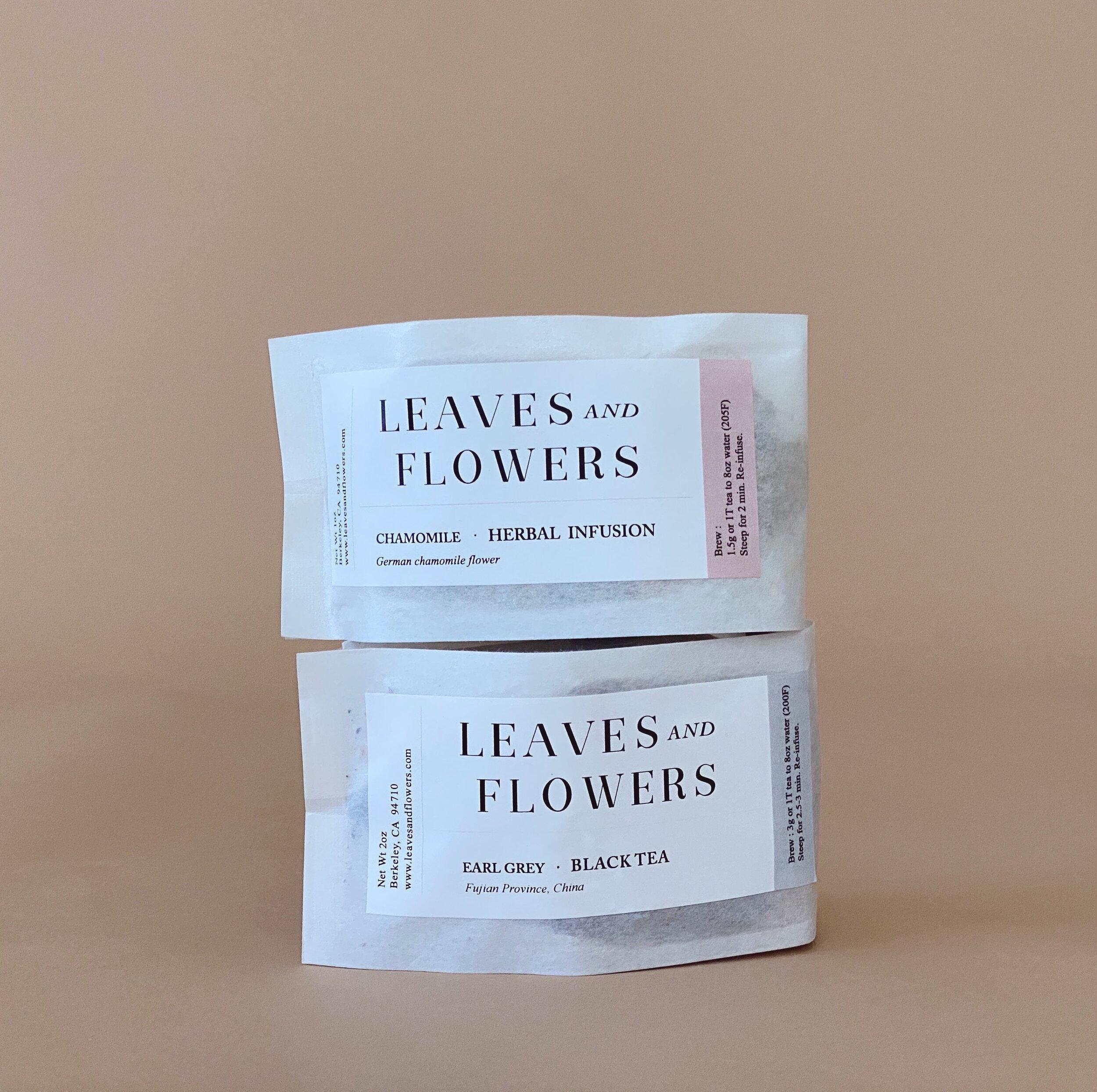 Leaves Flowers Tea Marigold