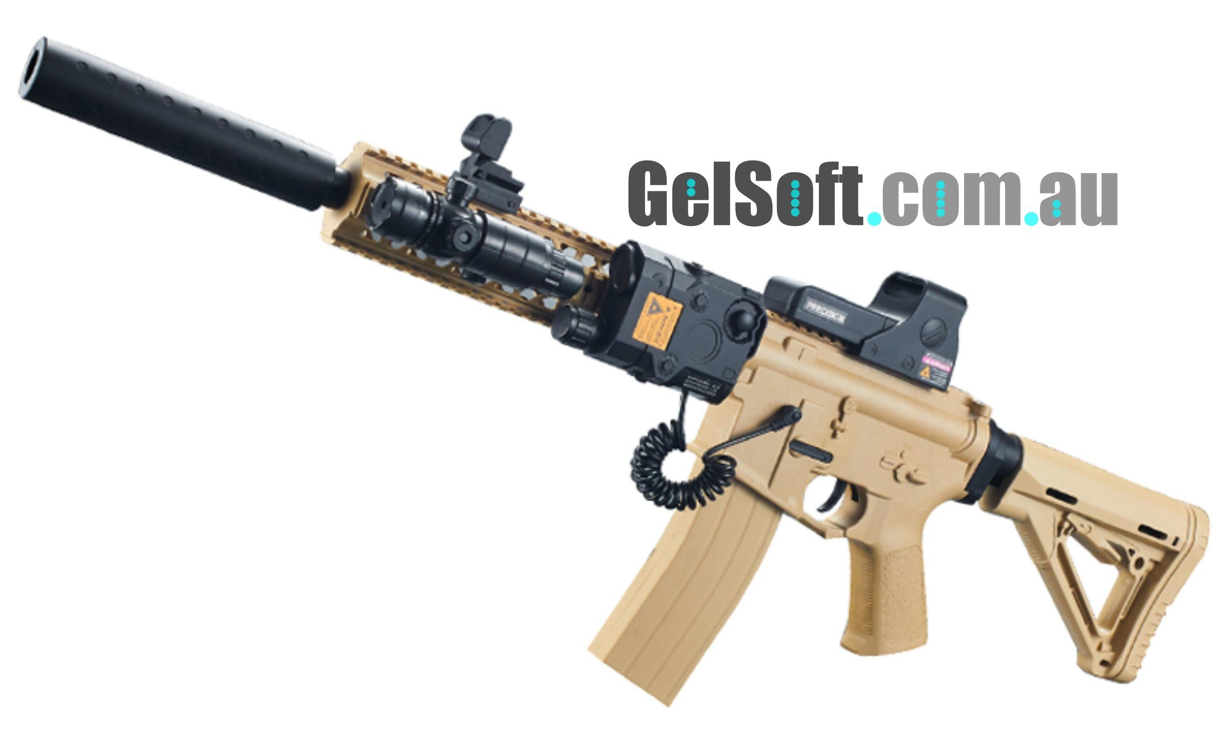M4 Tactical w/suppressor [Available for Pre-Order] — Gelsoft Australia