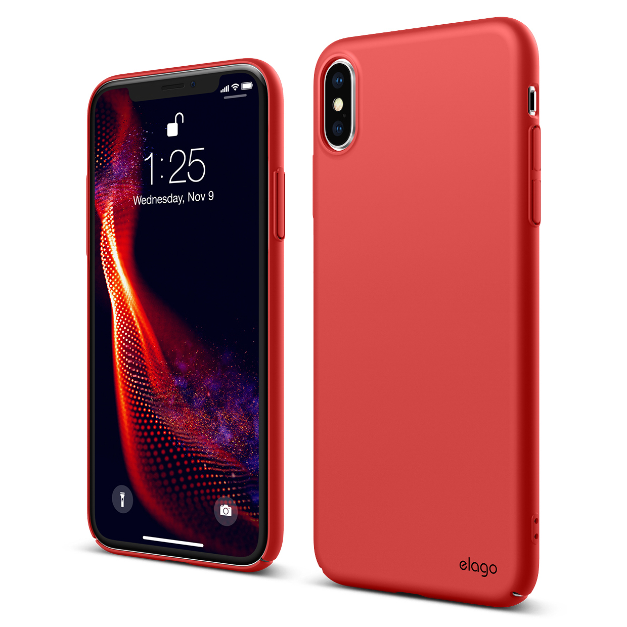 reputable site c7423 a5d4e Slim Fit Case for iPhone XS MAX - Red — elago
