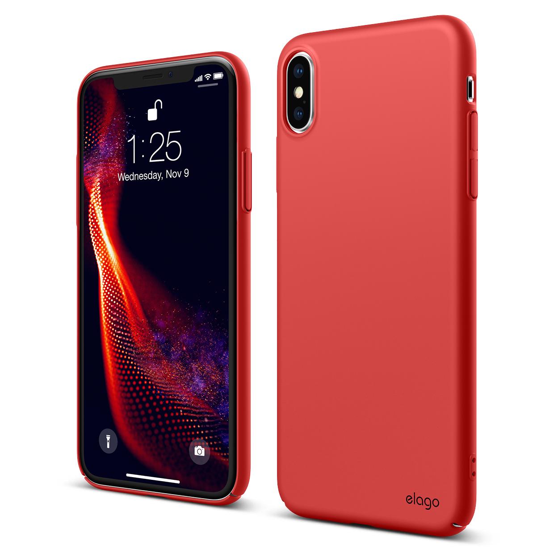 reputable site 57378 7e1f1 Slim Fit Case for iPhone XS MAX - Red — elago