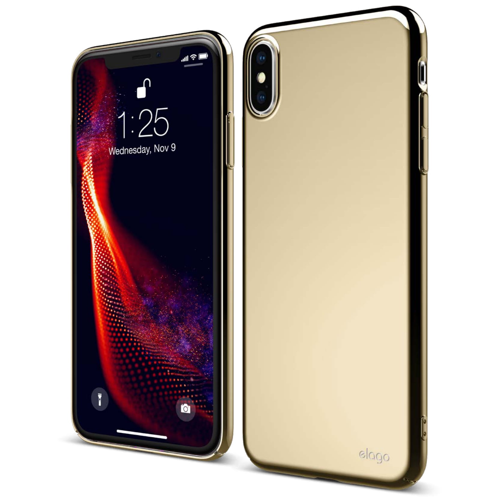 iphone xs case gold