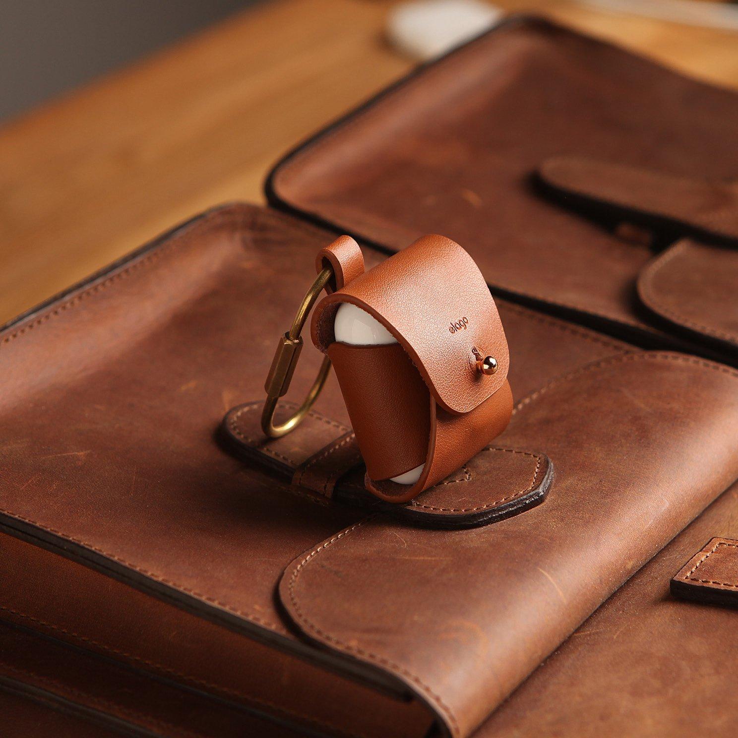 Airpods Leather Case Black Elago