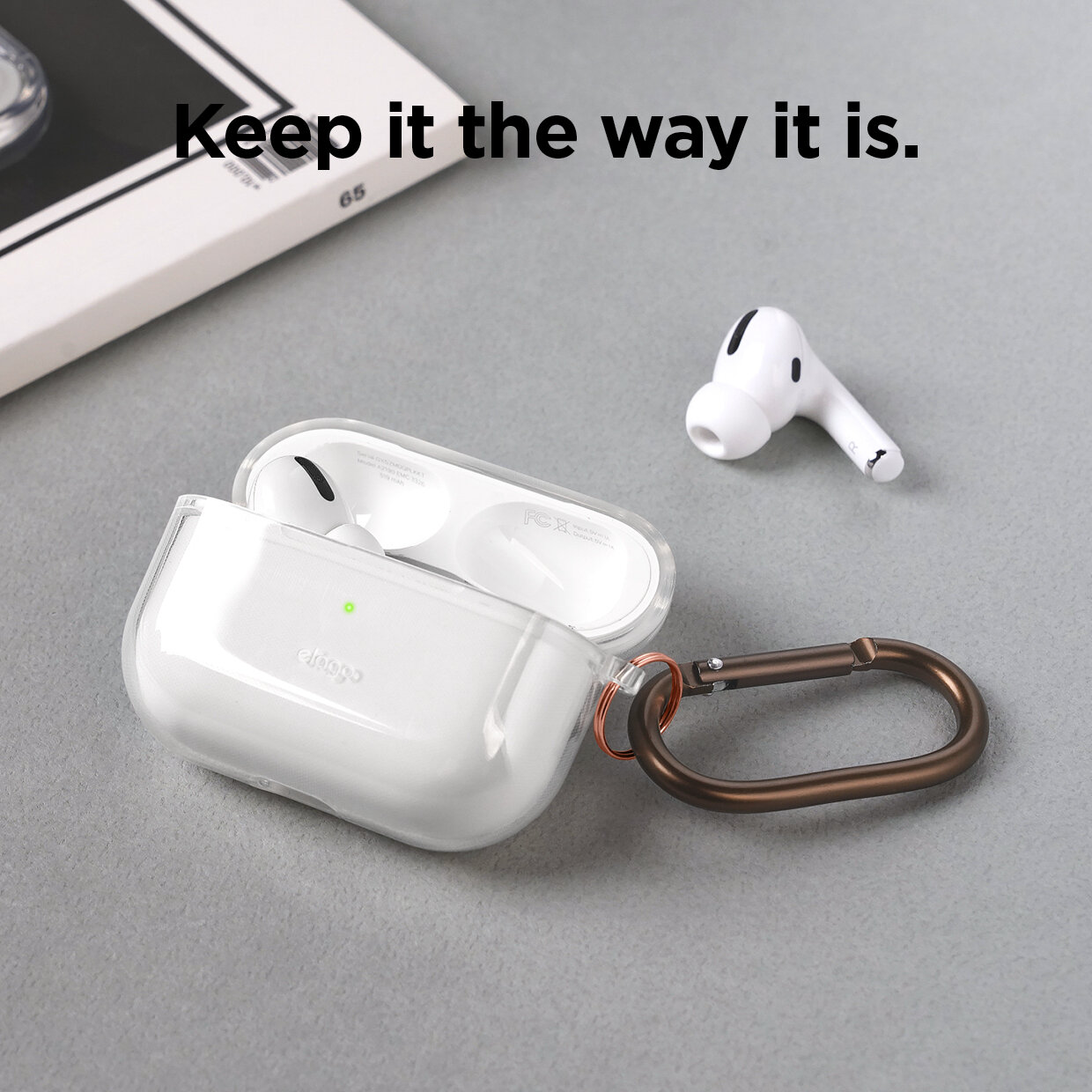 Airpods Pro Clear Case Transparent Elago