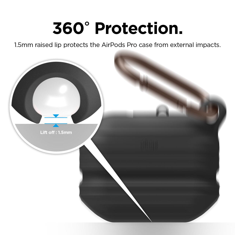 Airpods Pro Waterproof Case Black Elago