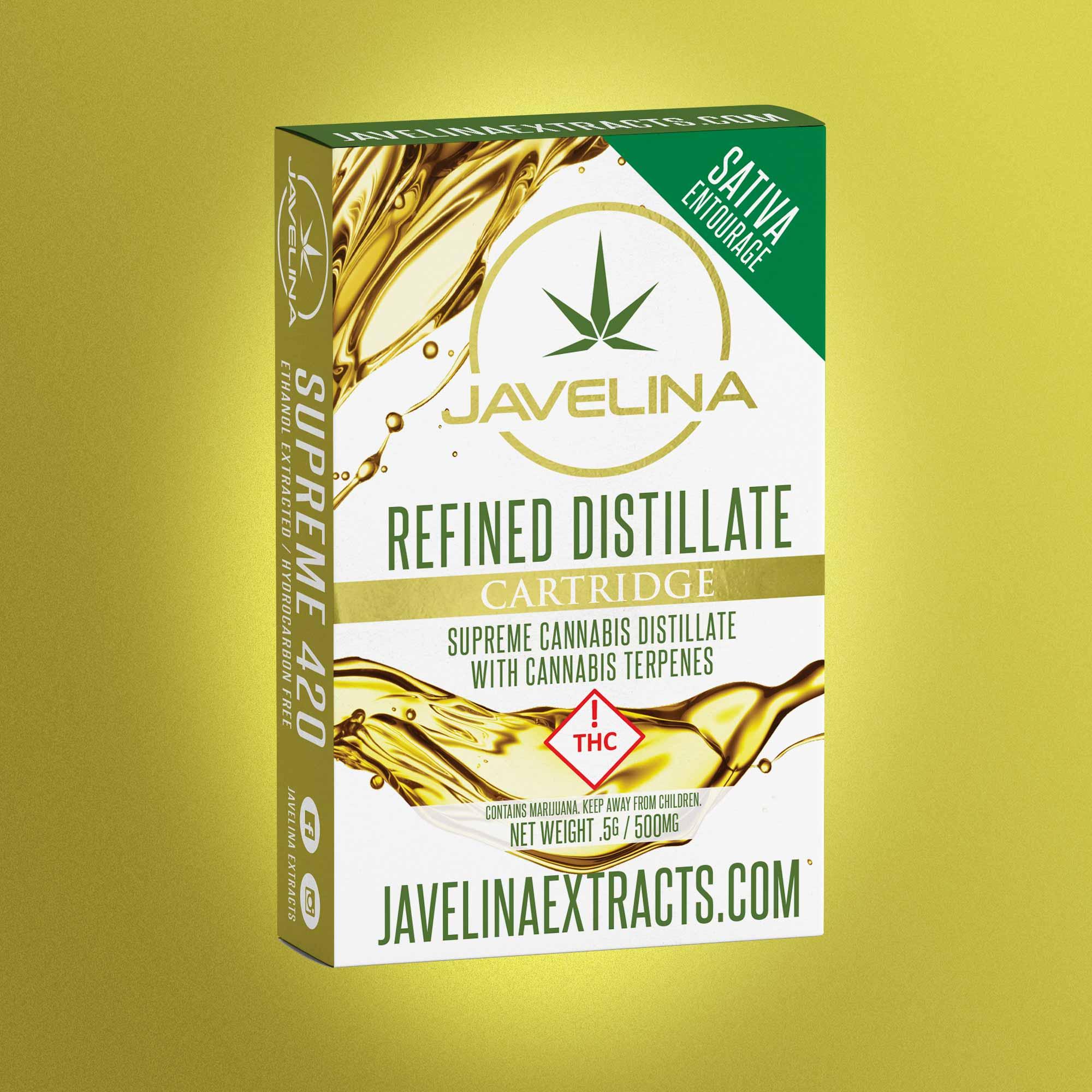 500mg Javelina Cartridge Sativa — JAVELINA EXTRACTS