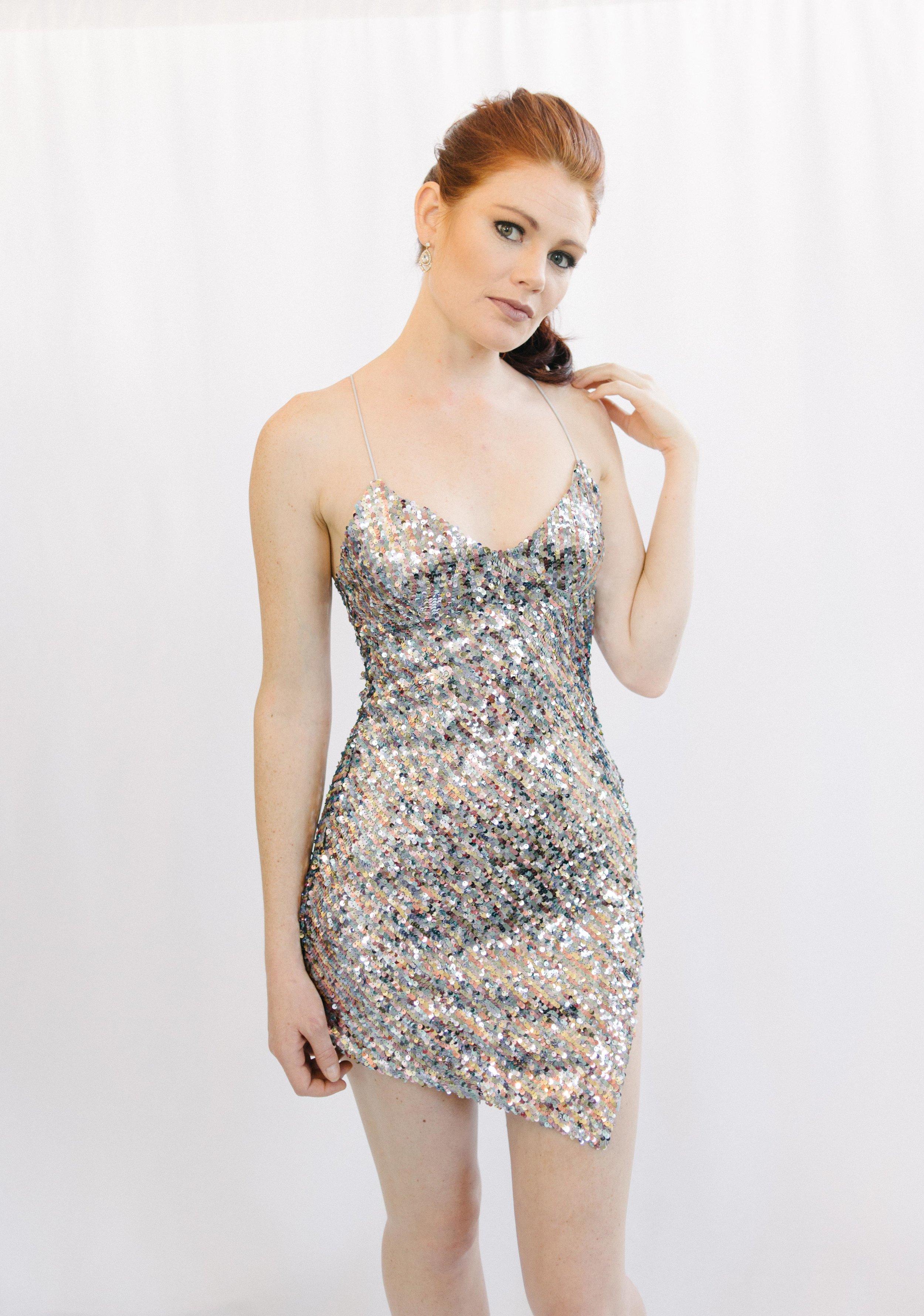 f25cbceb2d44 For Love & Lemons Showtime Sequin Mini Dress — Eden Boutique
