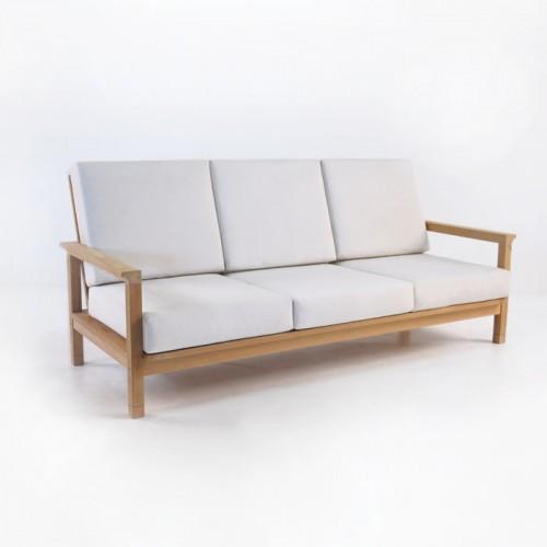 Monterey Teak Outdoor Sofa/ Teak Warehouse — Landstylist :: landscape  design ideas, curated