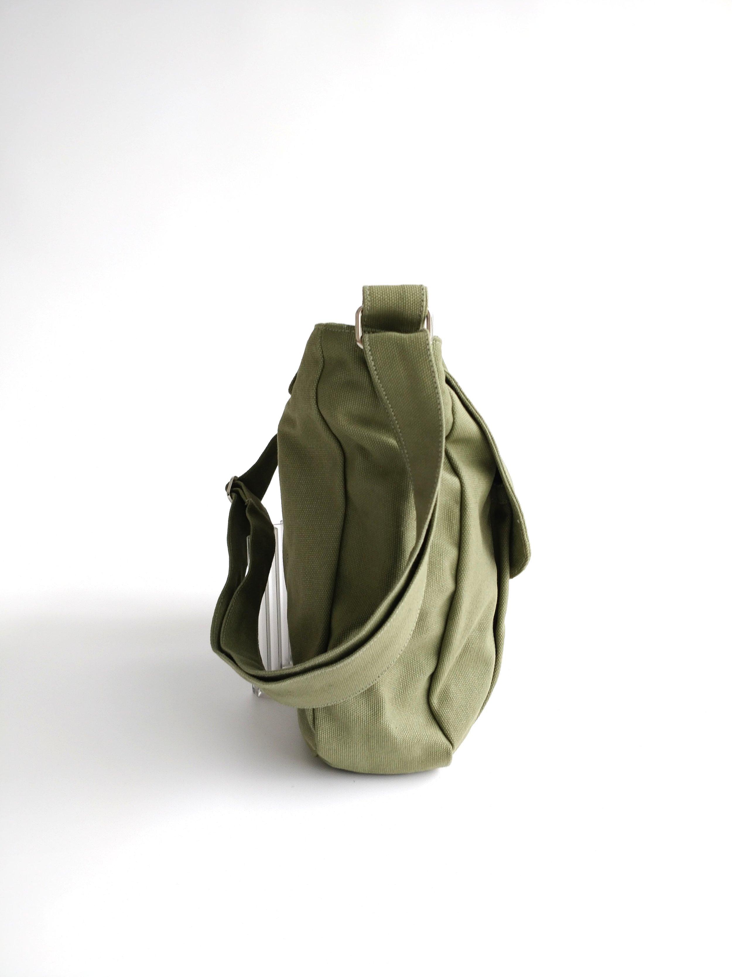 Kylie 12 Smoke Green Travel Shoulder Bag More Colors Christy Studio