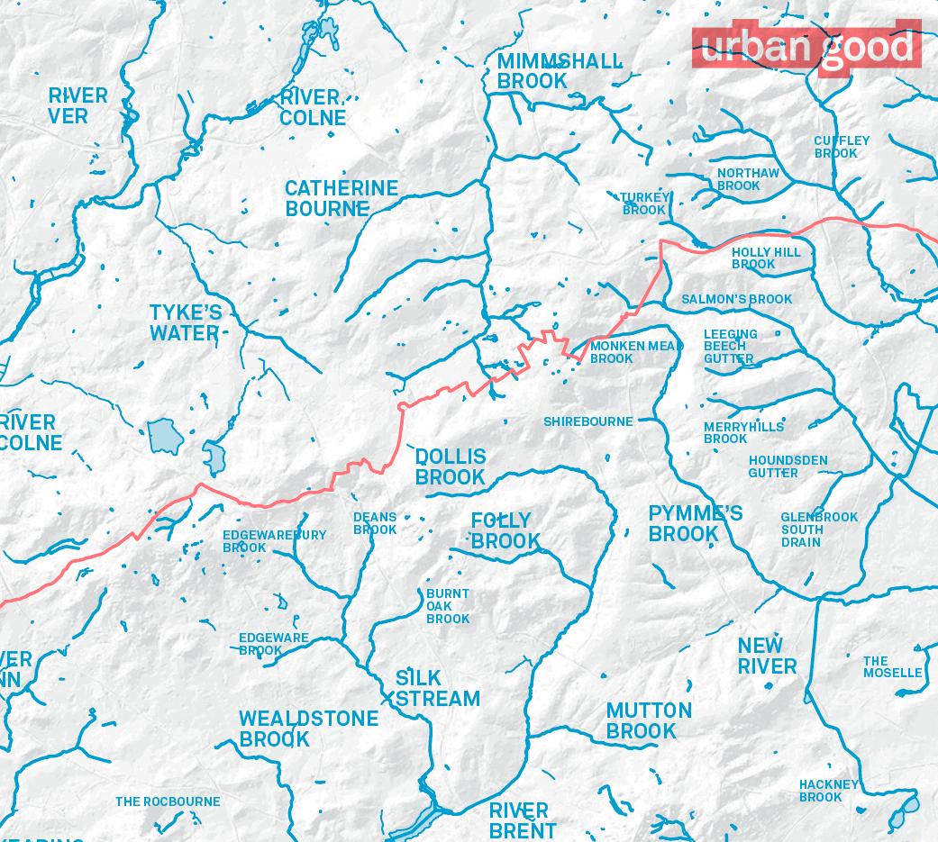 London Atlas Map.London National Park City Map Folded Urban Good