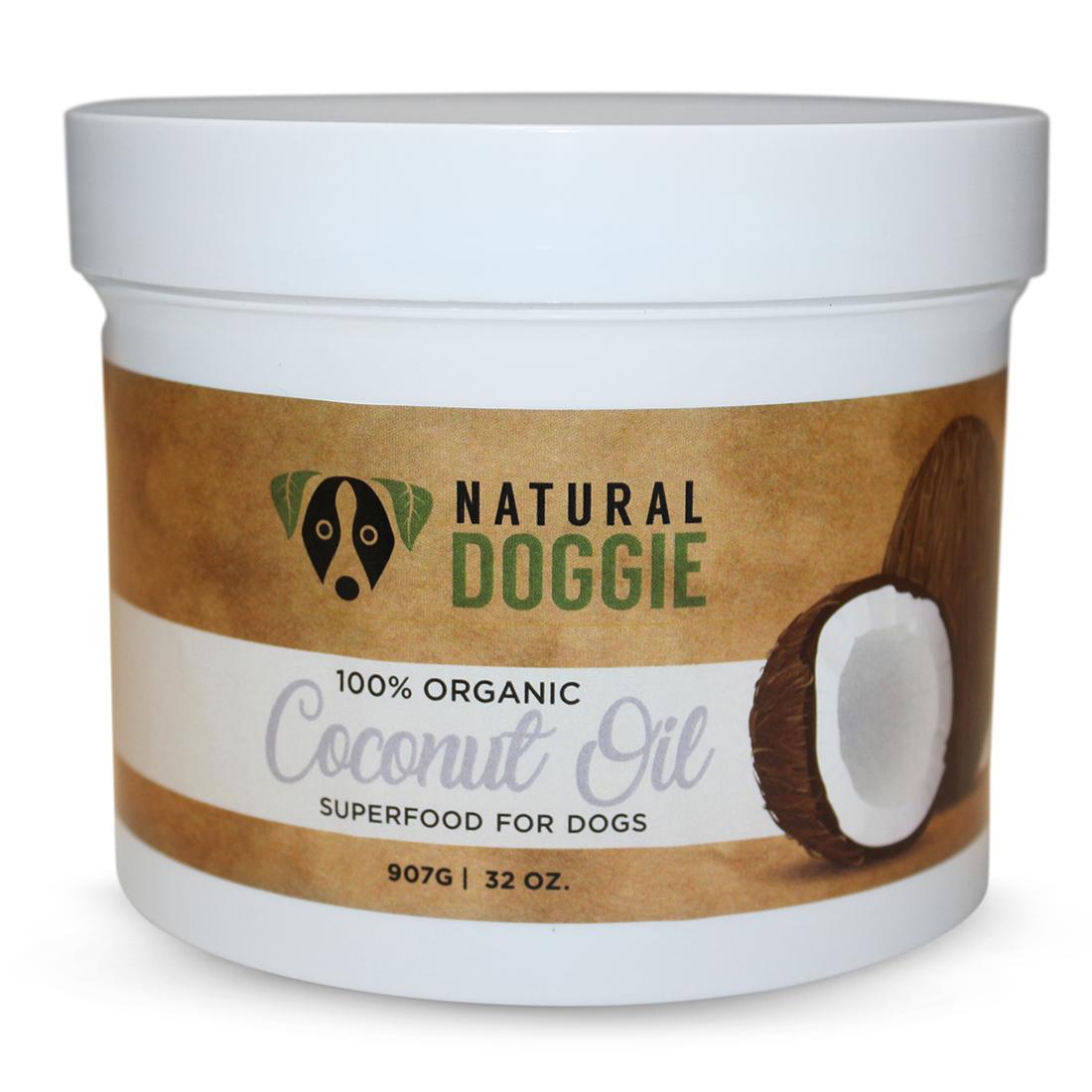 Natural Doggie Hemp CBD Infused Virgin Coconut Oil — Natural Doggie