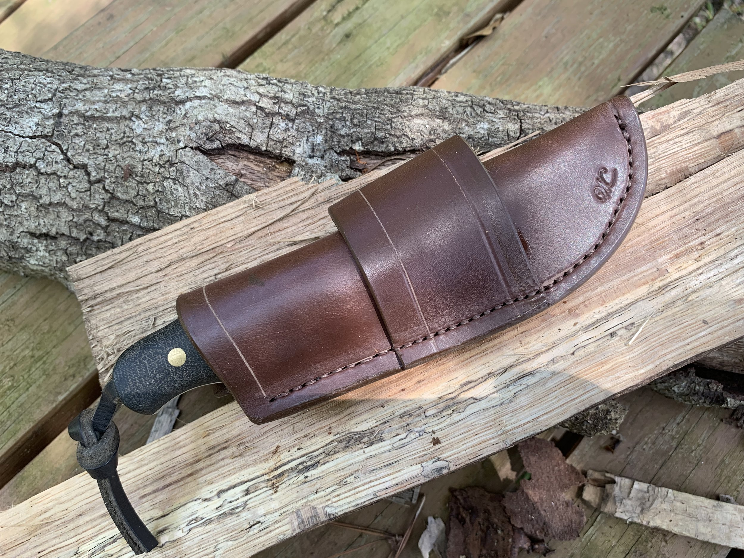 Vertical Carry Knife Sheaths