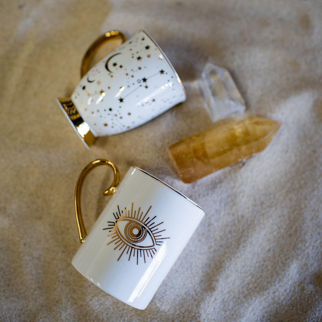Cristina Re Spirit Gypsy Protective Eye Mug — iluma Fine Foods