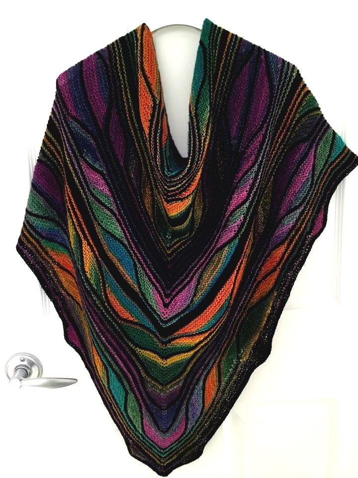 Papillon Butterfly Shawl Magical Knit Kits