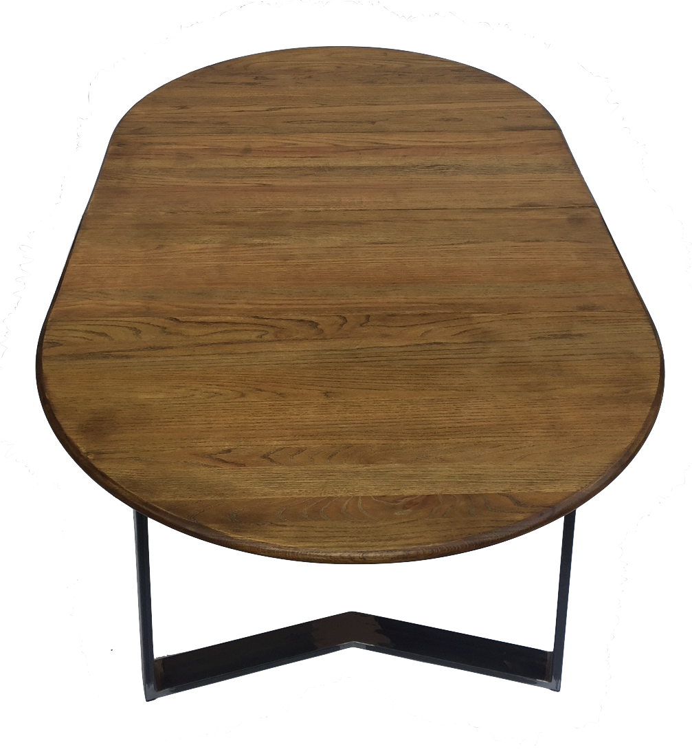 Modern Oak Dining Table With