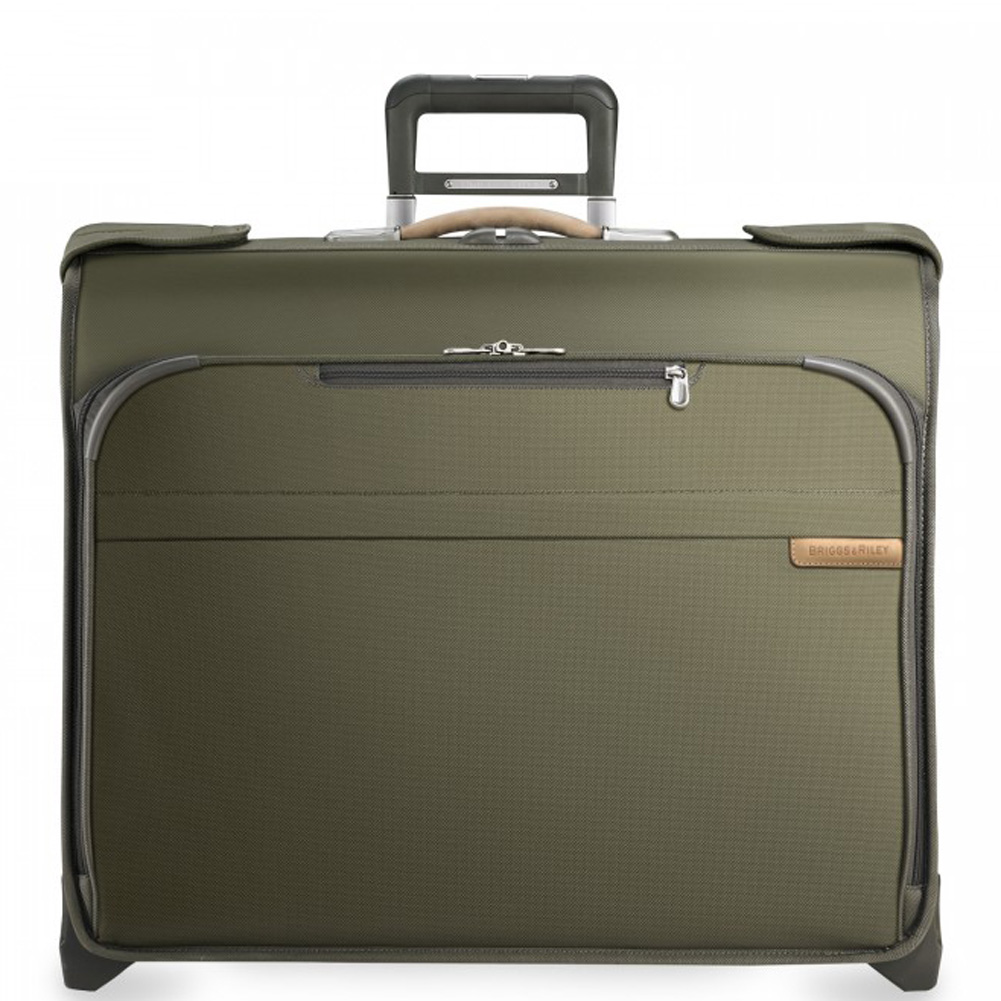 Briggs Riley Baseline Deluxe Wheeled Garment Bag Two Wheel U176 Going In Style