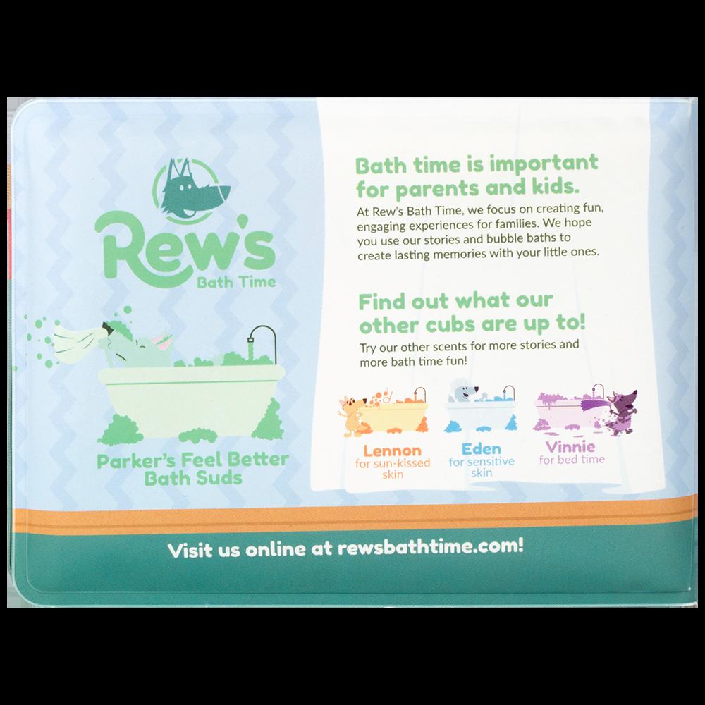 Parker's Feel Better Bath Suds with Children's Bath Book — Rew's Bath Time