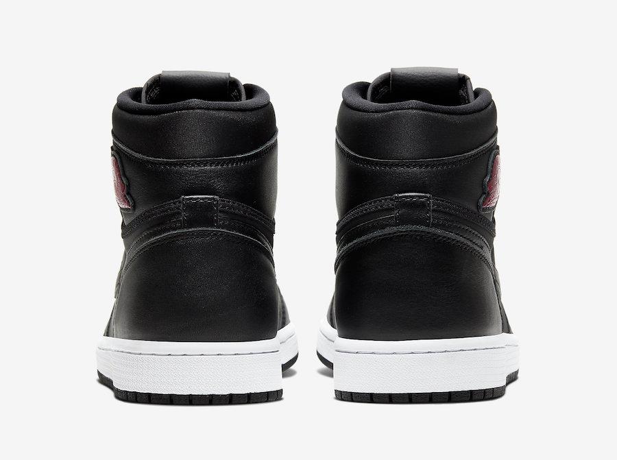 Air Jordan 1 High Og Men Black Satin
