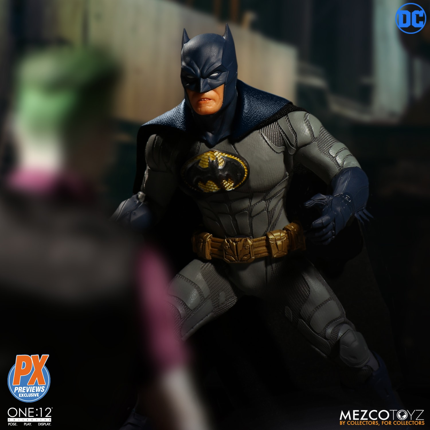 "MEZCO One 12 Collectif Batman souverain Knight 6/"" Inch ACTION FIGURE NEW"