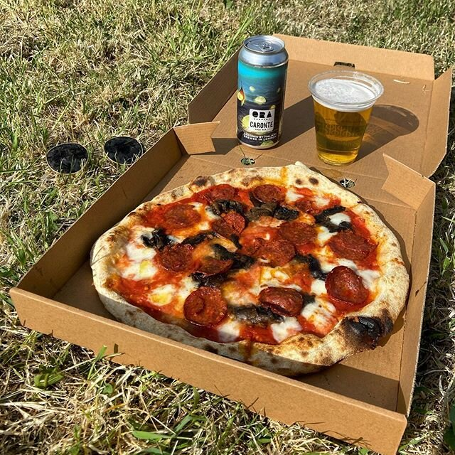 Park life is back! Its scorchio out there! ☀️ Good job you can get an ice cold draught beer and a pizza from True Craft at 4pm today and go and chill in @brunswickpark_n15 #Parklife #TrueCraft #Truecrafttottenham #PizzaAndBeer #CraftBeer #pizza #pizzalondon #craftbeerlondon