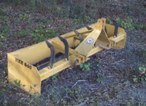 Kubota Tractor L39 - Box Scraper Attachment
