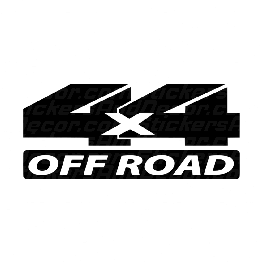 4X4 Off Road >> 4x4 Off Road Stickers And Decor