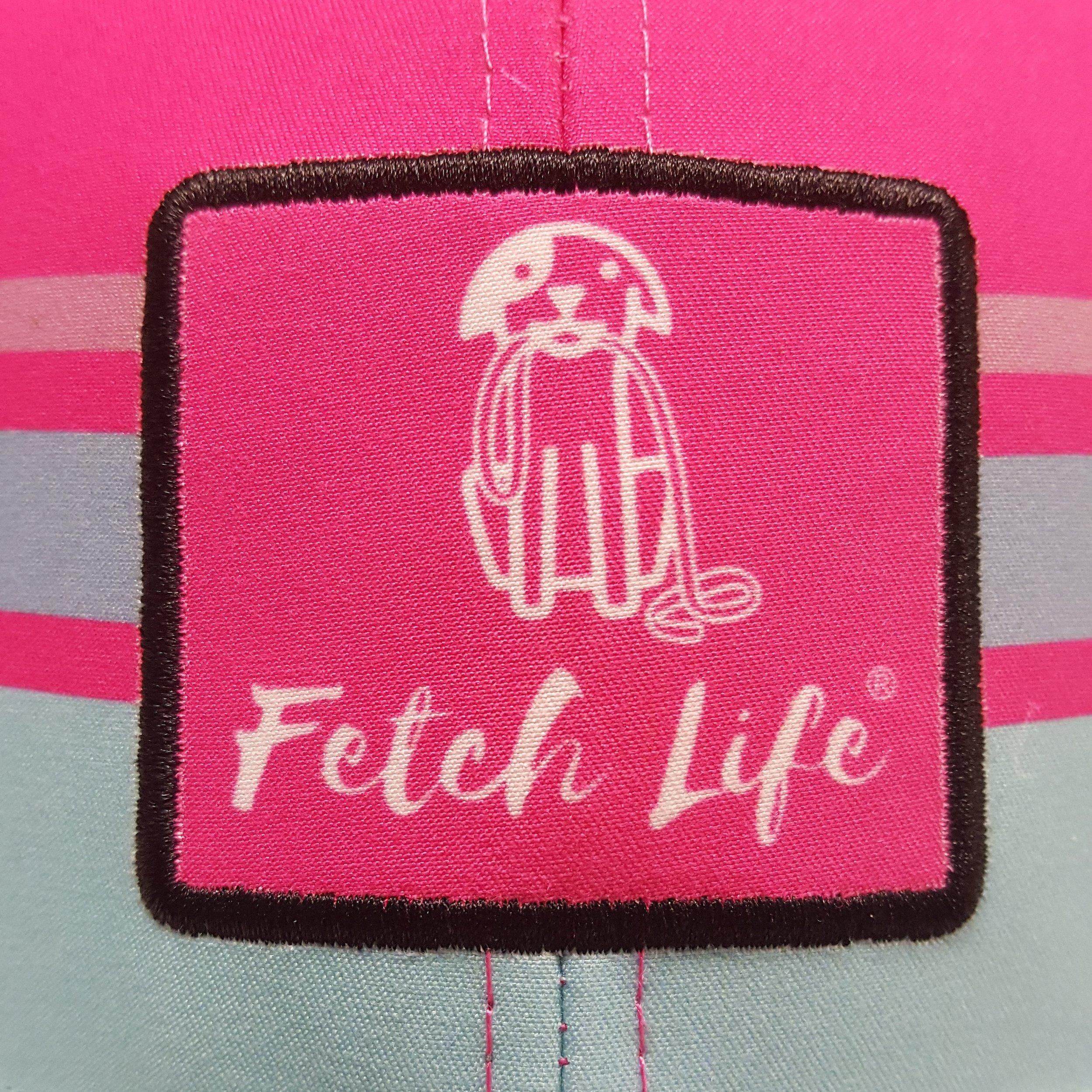 b9ee28d3e Fetch Life® Technical Trucker Hat - Pink/Black — Fetch Life Stuff