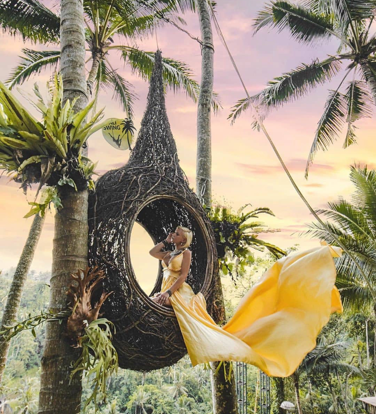Bali Dramatic Dress Rental Chidi Ashley Travels